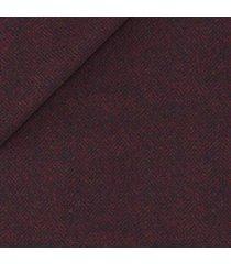 giacca da uomo su misura, lanificio ermenegildo zegna, lana cashmere spigato bordeaux, autunno inverno | lanieri