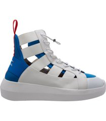 scarpe sneakers alte donna hi-twins pepsi