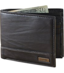guess leather bifold wallet