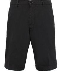 hugo boss slice cotton bermuda shorts