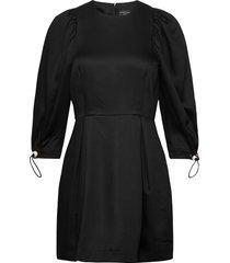 amanda dress kort klänning svart mother of pearl