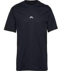 jordan bridge t-shirt cotton t-shirts short-sleeved blå j. lindeberg