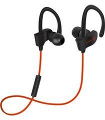 audífonos bluetooth deportivos, s4 in-ear audifonos bluetooth manos libres  inalámbrico deportivo corriendo auricular (rojo)