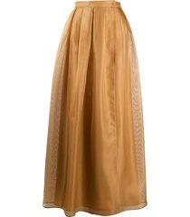 max mara tirana long skirt