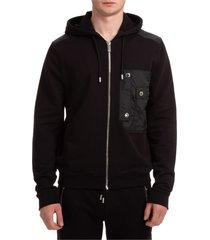 les hommes pure new zip-up sweatshirt