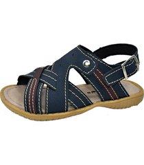 papete gotakids sandália azul marinho