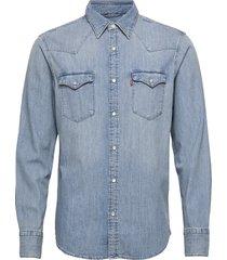 barstow western standard red overhemd casual blauw levi´s men