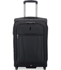 "closeout! delsey helium 360 20"" expandable 2-wheel carry-on suitcase, created for macy's"