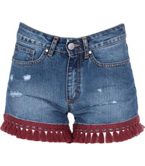 jijil denim shorts