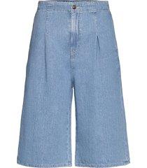 leila shorts 13165 shorts denim shorts blå samsøe samsøe
