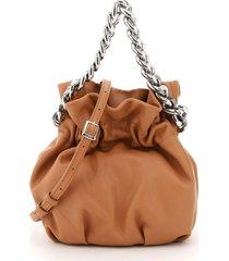 staud grace chain bucket bag