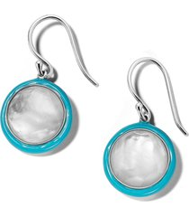women's ippolita lollipop carnevale double drop earrings