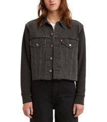 levi's juniors' ex-boyfriend cotton trucker jacket