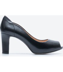 tacones casual mujer unisa shoes z01c negro