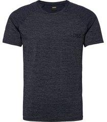 t-shirt rn athletic t-shirts short-sleeved blå boss