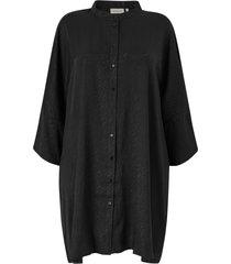 skjortklänning carleonora 3/4 sl tubic shirt dress
