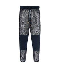 calça masculina underwear bottom longo - preto