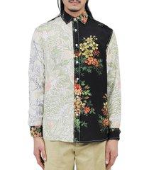 jw anderson floral shirt