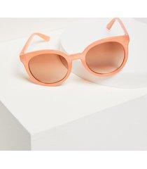 lane bryant women's round sunglasses onesz coral