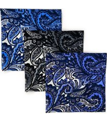 society of threads unisex bandana ombre paisley, pack of 3