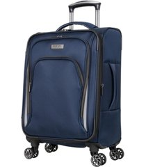 """kenneth cole reaction cloud city 20"""" softside carry-on spinner"""