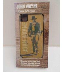 john wayne iphone 4/4s case only the duke cowboy gun portait new 2013