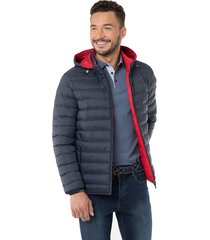 parka arrow reversible azul/ rojo - calce regular