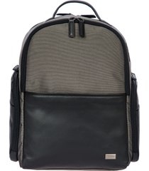 bric's monza medium backpack in grey/black at nordstrom
