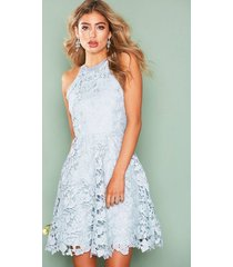 nly eve scallop lace dress skater dresses