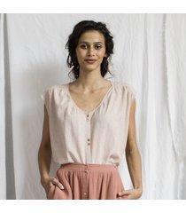 camicetta a quadri testurizzata- collezione donna  -