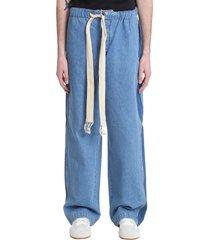 loewe jeans in blue denim