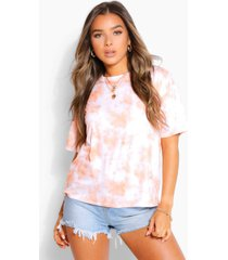 petite tie dye t-shirt, orange