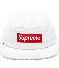 supreme ballistic camp cap - white