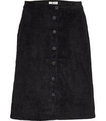 sc-bindi knälång kjol svart soyaconcept