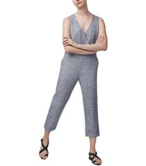b new york linen relaxed sleeveless jumpsuit
