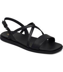 ofra strap shoes summer shoes flat sandals svart clarks