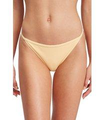 women's roxy mind of freedom bikini bottoms, size xx-large - orange
