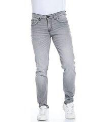 jean skinny gris claro