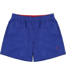 short baño rugby royal polo ralph lauren unicolor  ppc