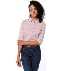camisa rosa active