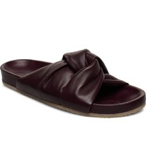 brea sandal shoes summer shoes flat sandals brun filippa k