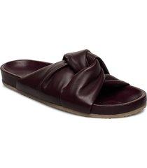 brea sandal shoes summer shoes flat sandals brun filippa k