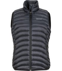 chaqueta sin mangas aruna negro marmot.