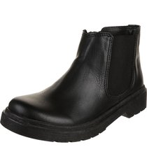 botineta  negra rosevelt shoes ludmila