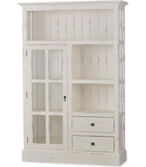 bramble 21822 vintage white cape cod kitchen cupboard solid wood special order