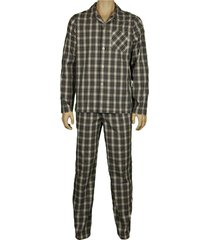 tommy hilfiger pyjama cabot met knopen