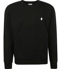 marcelo burlon cross regular crewneck sweatshirt
