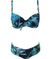 bikini aqua blauw