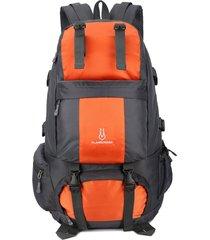 mochila/ alpinismo exterior de viaje impermeable de-naranja