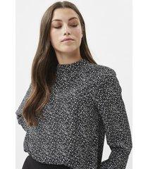 minimum zeta blouse black